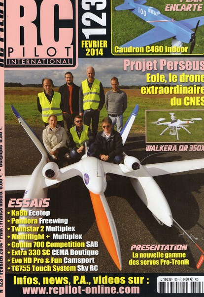RC Pilot 123 - Couverture