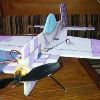 Yak 55 EPP - Première partie - Impression, découpe & Décoration.