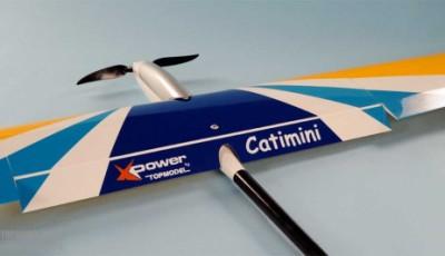 Catimini de Xpower : Un planeur de début avec volet.