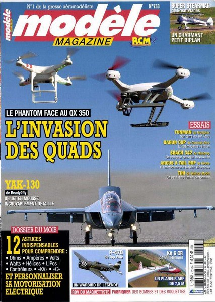 Modele Magazine 753 - Couverture