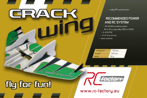 Crack Wing - RC Factory