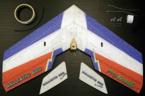 Ballistic 600 de Pro-Tronik - Le Kit