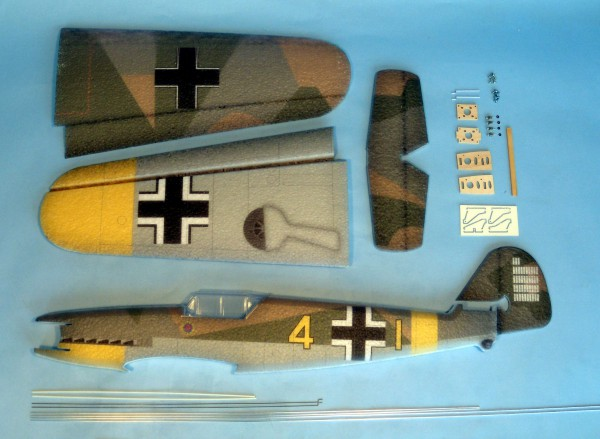 Mini Warbirds Hacker Model - Kit BF109