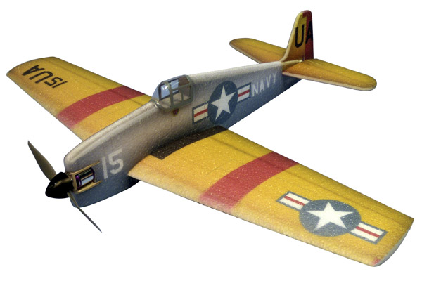 Mini Warbirds de Hacker Model - F6F-5