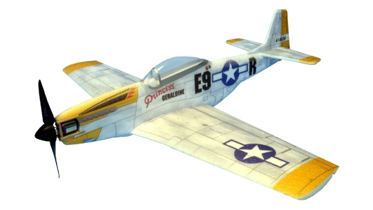 Mini Warbirds Hacker Model - P51D
