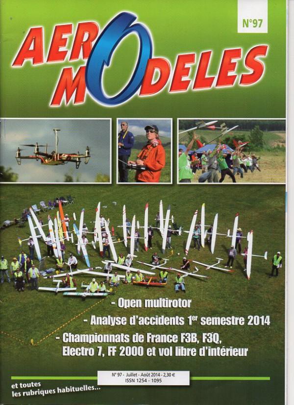 Aero modeles 97 - Couverture