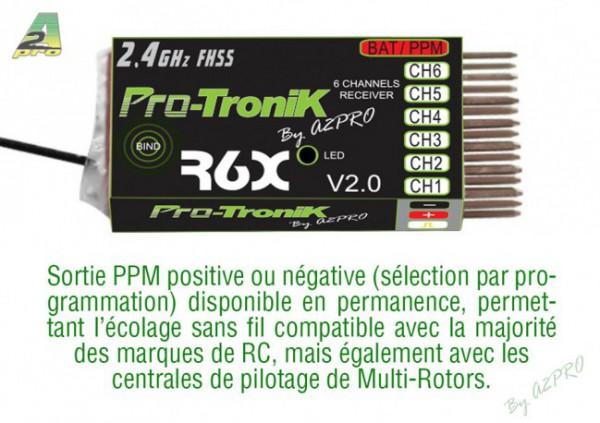 PTR6A V2 de ProTronik - R6X V2