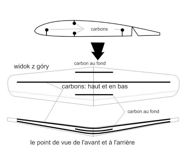 Zero A6M5 EPP Marek - Renforts aile