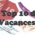 Vacances - Top 10