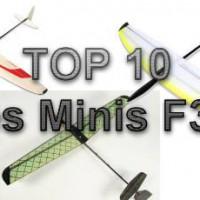 Top 10 des minis F3K - Image à la une