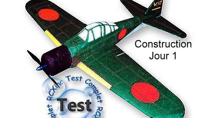 Zero A6M5 EPP Marek: Construction et décoration - Jour 1.