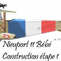 Le Nieuport 11 Bébé: Un old timer tout en dépron 3mm.