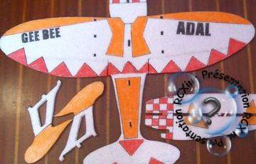 GEE BEE Racer Construction: Suite et fin, il volera bientôt.
