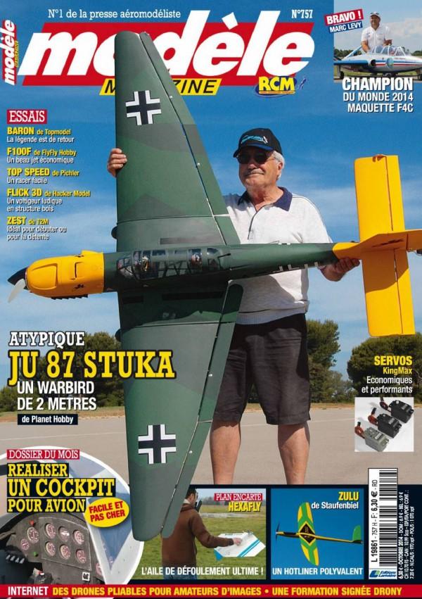 Modele magazine 757 - Couv