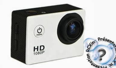 Caméra sportive SJ4000: Concurrente Low Cost de la GOPRO.