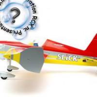 Le SLICK 3D 480 ARTF de E-Flite: Un magnifique petit 3D balsa.