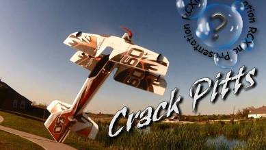 CRACK PITTS de RC Factory : Un biplan coloré pour la 3D.