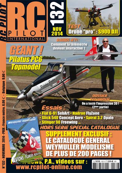 RC pilot 132 - Couverture
