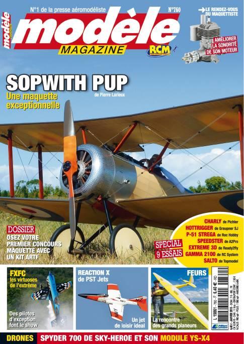 Modele Magazine 760 - Couverture