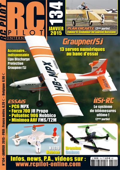 RC pilot 134 - Couverture
