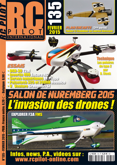 RC pilot 135 - Couverture
