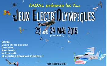 JEO: Les Jeux ElectrOlympiques 2015 de l'ADAL.