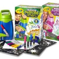 Marker Airbrush Crayola : Aérographe feutre pour décorer.