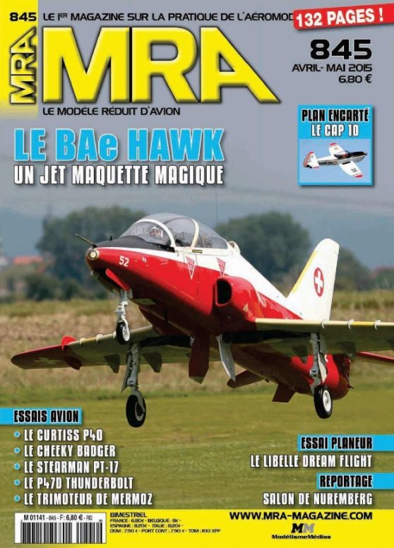 MRA 845 - Couverture