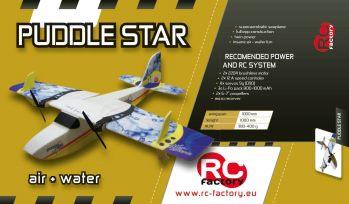 PUDDLE STAR de RC Factory : Le drôle d'hydravion bimoteur.