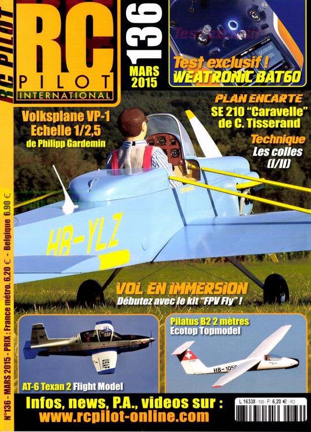 RC pilot 136 - Couverture