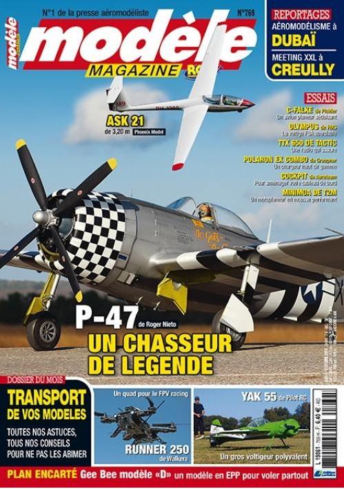 Modele Magazine 769 - Sommaire