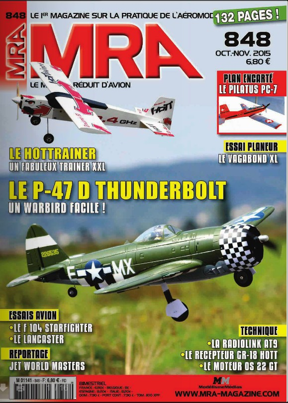MRA 848 - Couverture