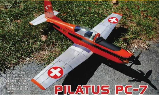 MRA 847 - Plan Pilatus PC-7
