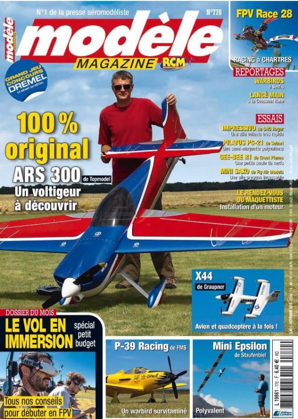 modele magazine 770 - Couverture
