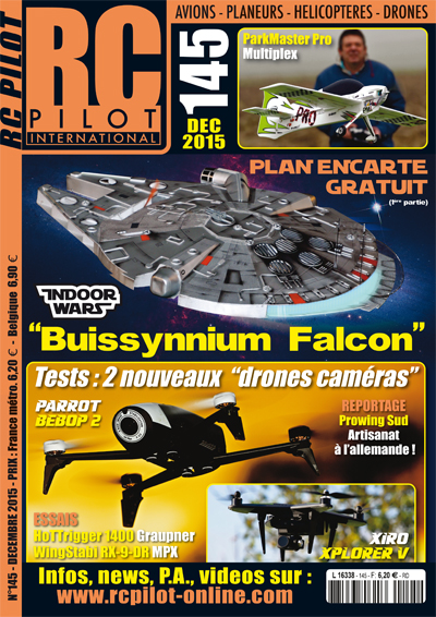 RC Pilot 145 - Couverture