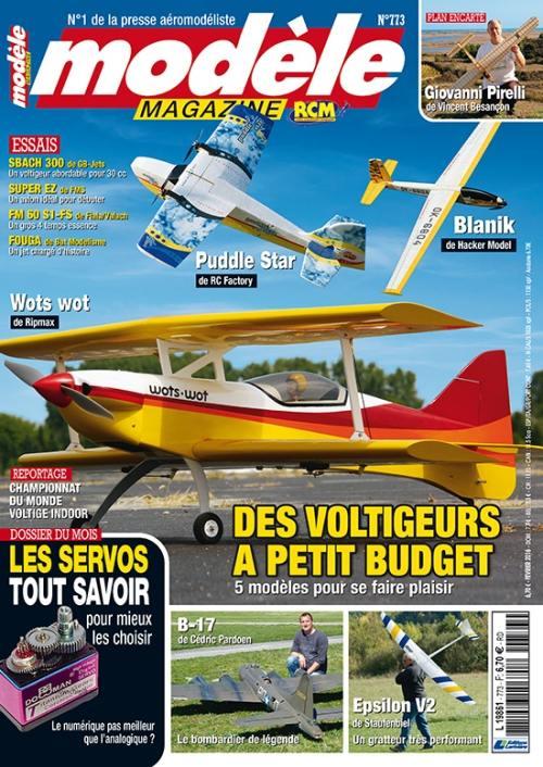 Modele Magazine 773 - Couverture