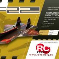 F22 RAPTOR de RC Factory : Un jet EPP surprenant.