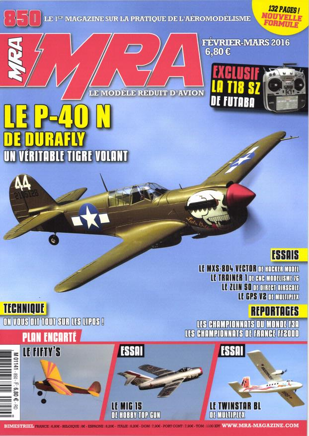 MRA 850 - Couverture