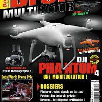 Drone MultiRotor n°8 : Présentation et sommaire du numéro.