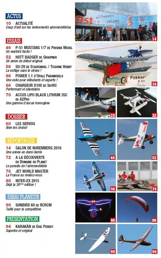 Modele Magazine 774 - Sommaire