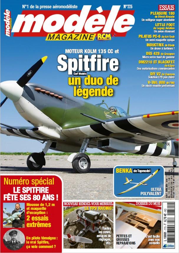 Modele Magazine 775 - Image à la une