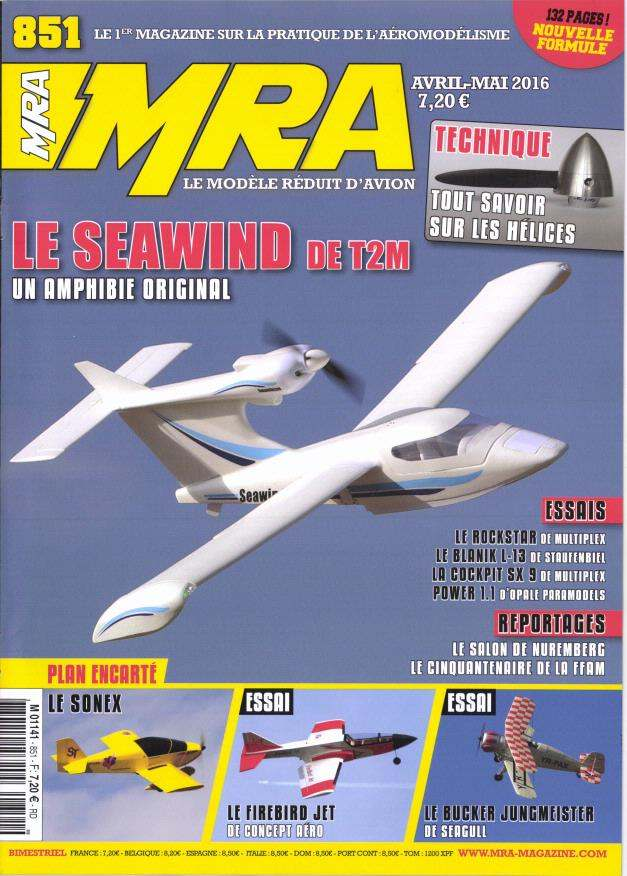 MRA 851 - Couverture