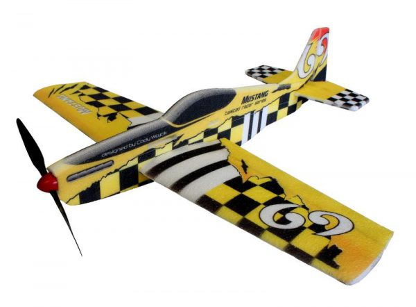 RACER de RC Factory - MUSTANG Yellow