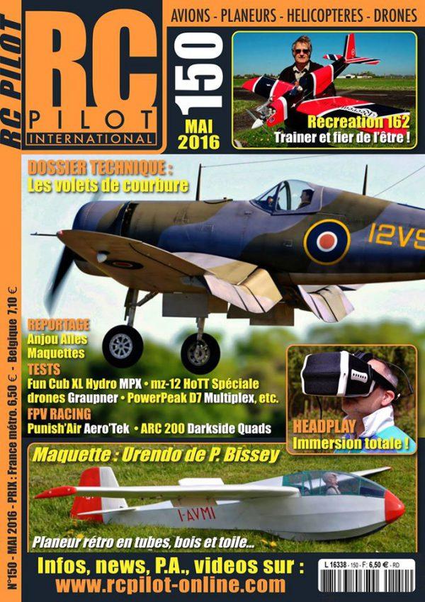 RC pilot 150 - Couverture