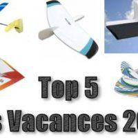Top 5 des vacances 2016