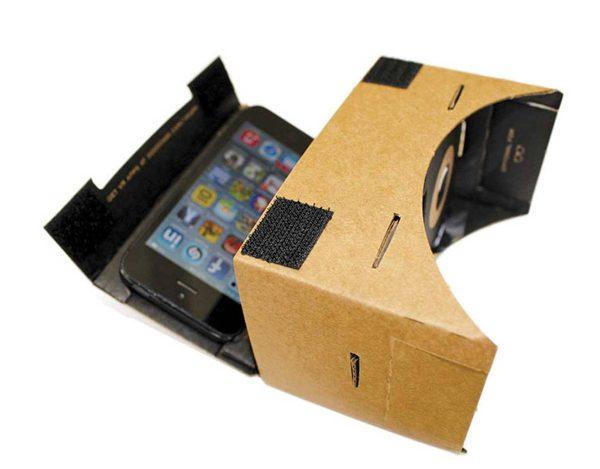 CX 10WD de Cheerson - Cardboard - Masque Smartphone