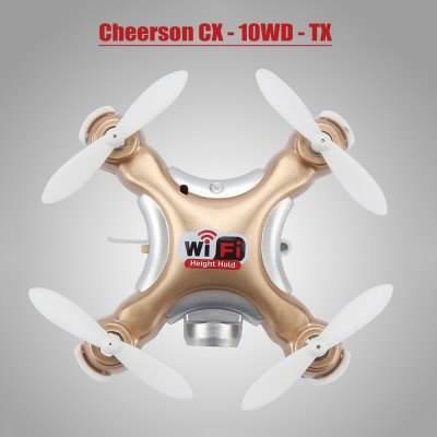 CX 10WD de Cheerson - Couleur Or