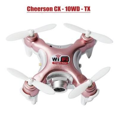 CX 10WD de Cheerson - Couleur rose métallisée