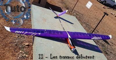 E-Hawk 1500 de Thunder Tiger : [Restauration] - Les premiers travaux.