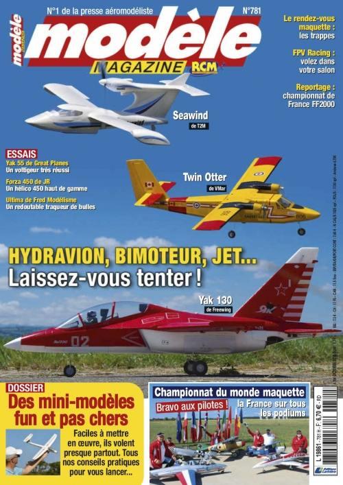 Modele Magazine 781 - Couverture